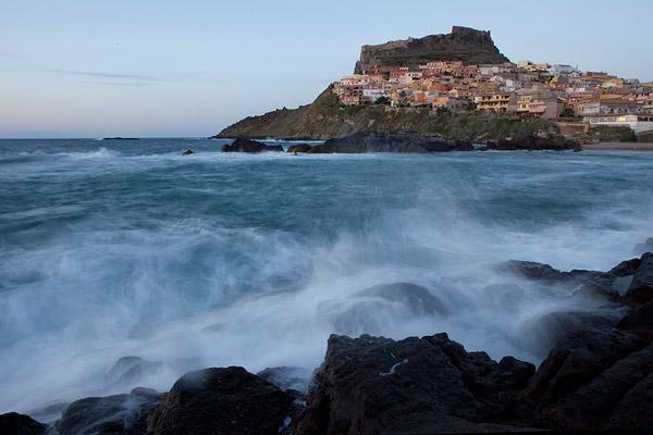 Castelsardo - een dorpje langs de Sardijnse kust