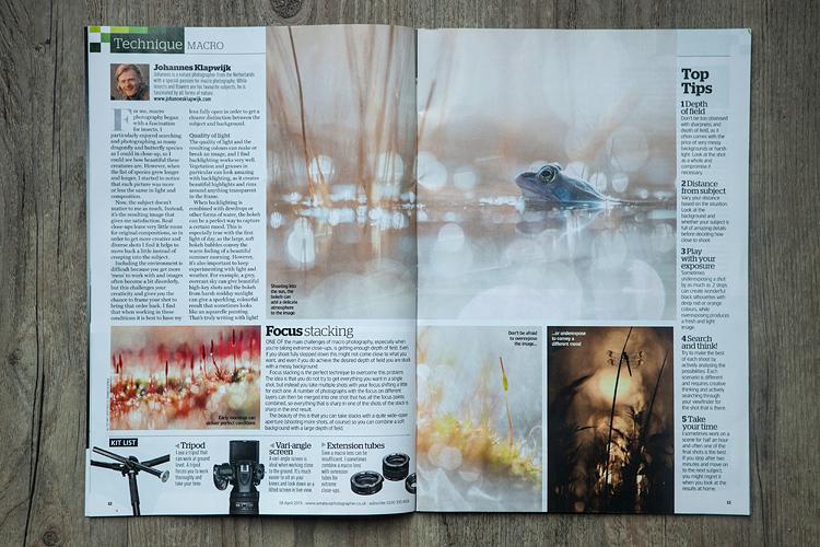 Publicatie in Amateur Photographer