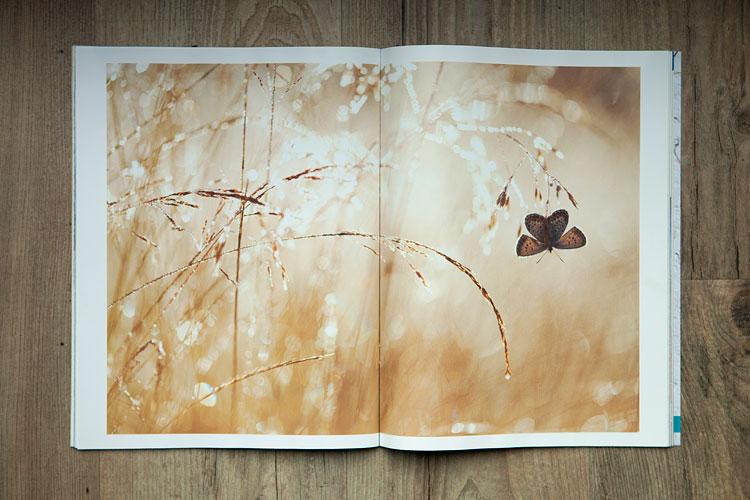 """Mijn winnende foto als pagespread in het tijdschrift """"Outdoor Photographer"""""""