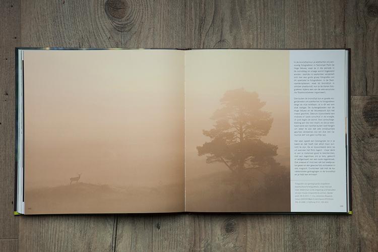 """Publicatie in het boek """"Praktijkboek Wildlife Fotografie"""""""