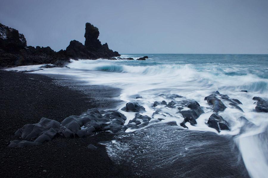 Het strand van Dritvik